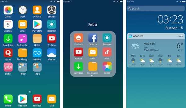 X Launcher New best ios launcher for android
