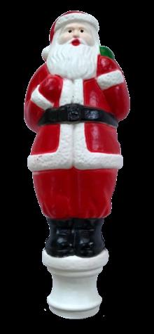 Santa Treetop photo