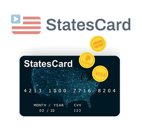 Pay for US services with Statescard