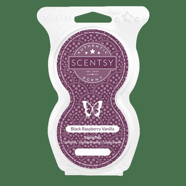 Black Raspberry Vanilla Scentsy Pod Twin Pack