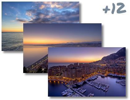 Monaco theme pack