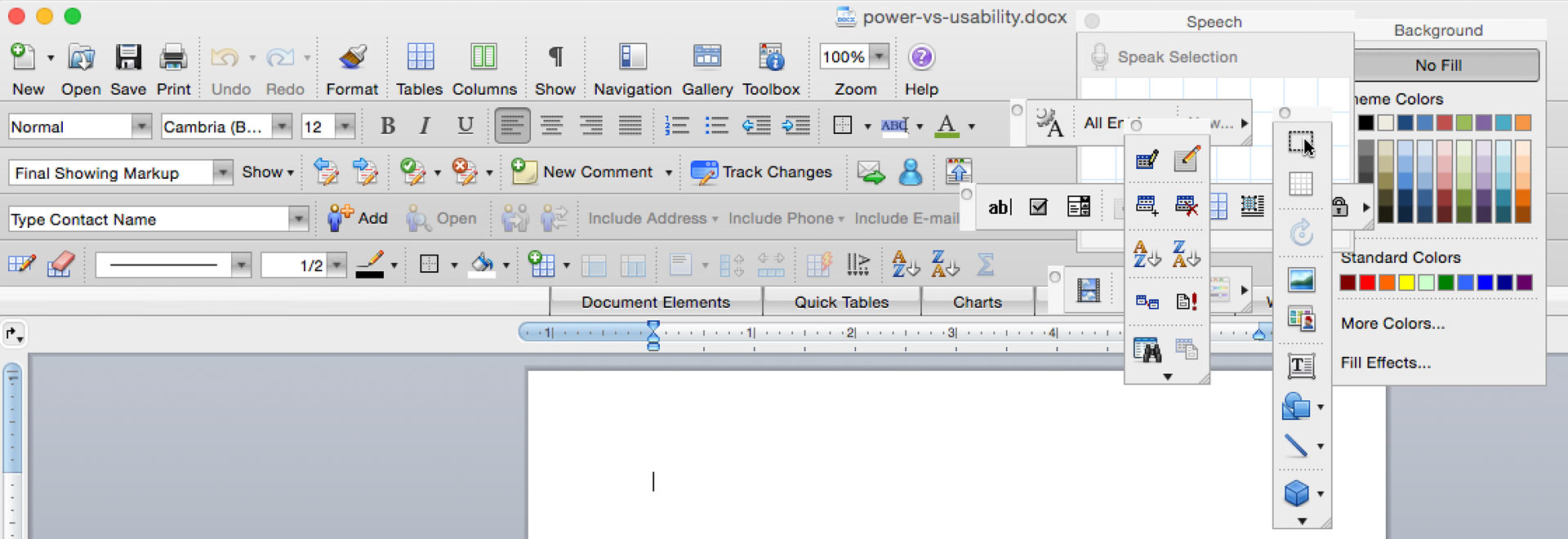 Microsoft Office, exemplifying 'feature creep'