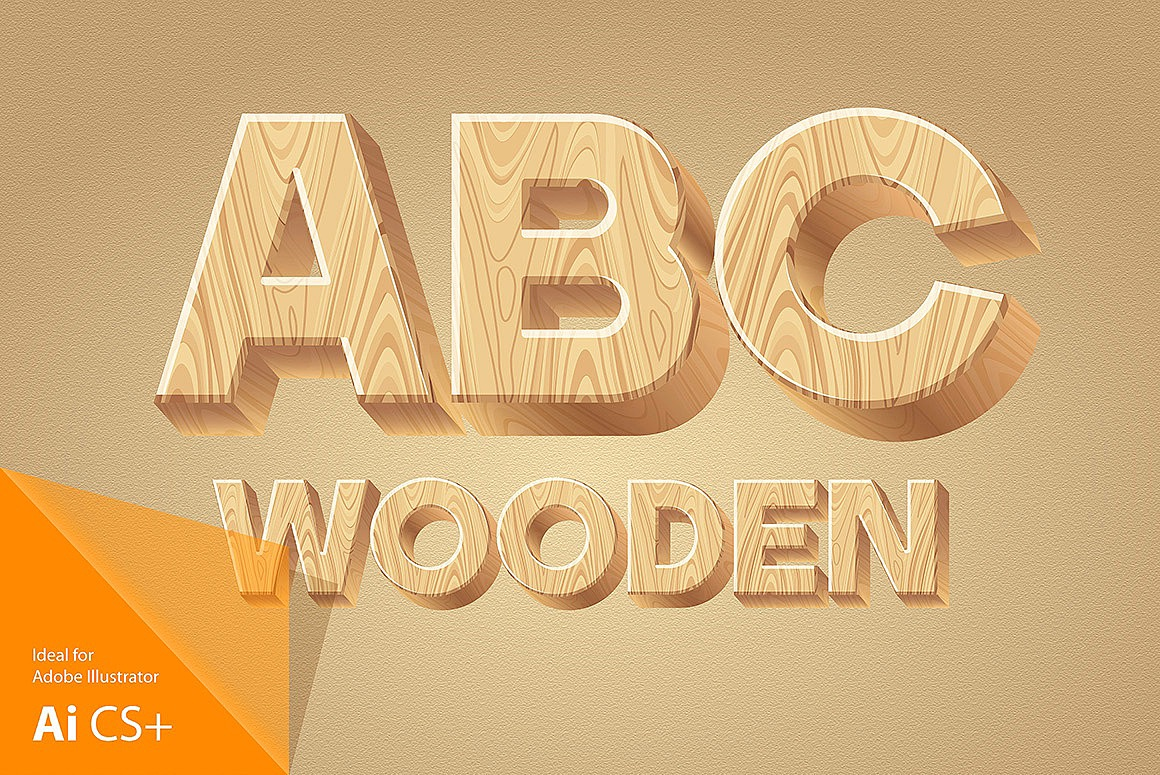 Wooden Alphabet images/1-3D-wood-typography_1.jpg