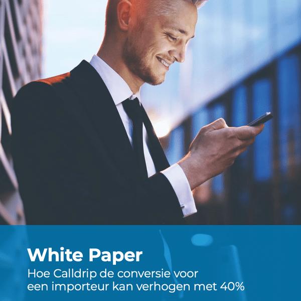 E-book: Hoe Calldrip de conversie voor een importeur kan verhogen met 40%!