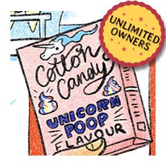 featured image thumbnail for post A box of poop from the Unicorn Poop Level