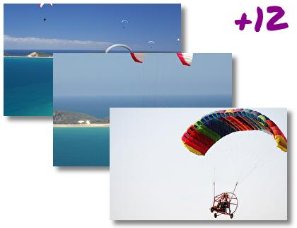 Paragliding theme pack