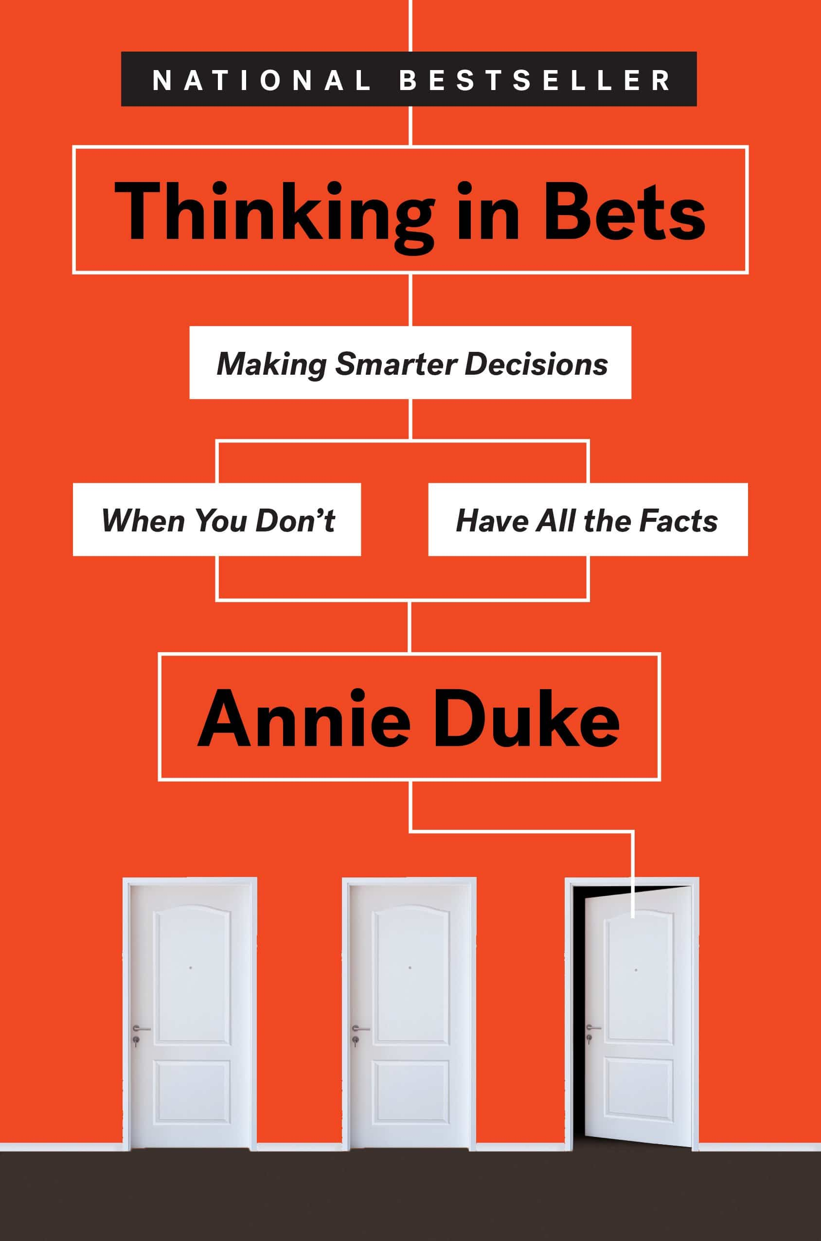 The cover of Thinking in Bets