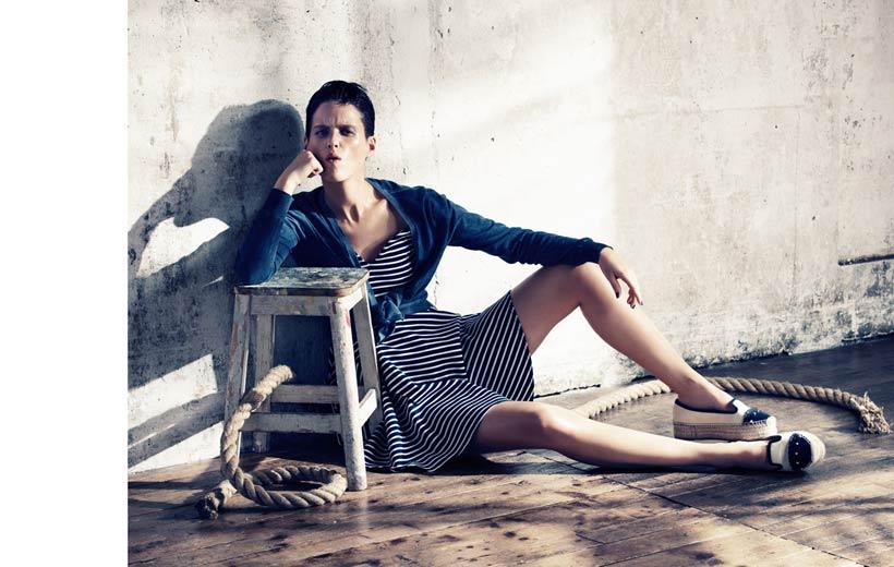 Elisabetta Cavatorta Stylist - Navy - Sven Baezinger - Grazia