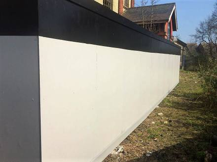 Hoarding with Anti Climb Paint – Eastbourne