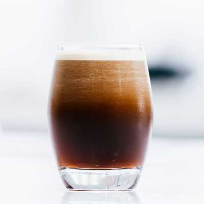 Filter Cold Brew; low acidity and rich body, infused for 24 hours