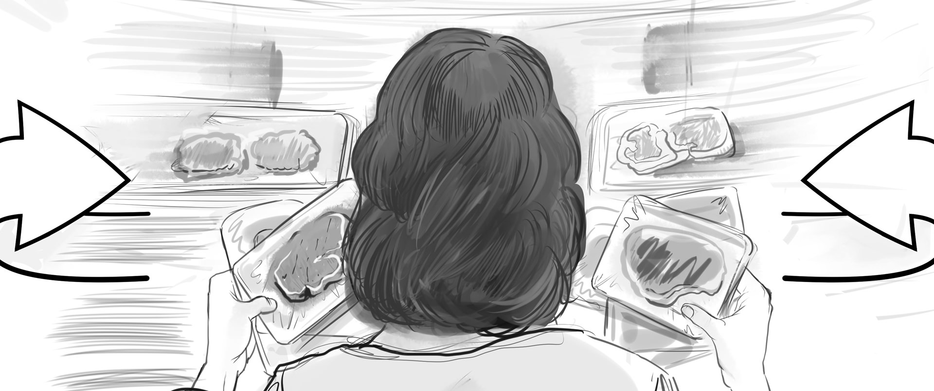 Lidl Vis TV Commercial storyboard 03