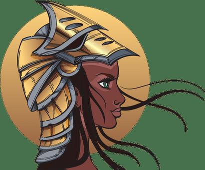 A warrior woman