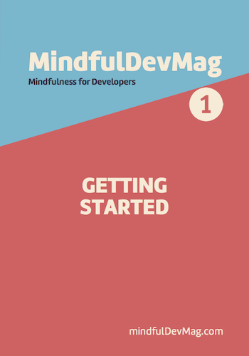 MindfulDevMag Cover Issue #1