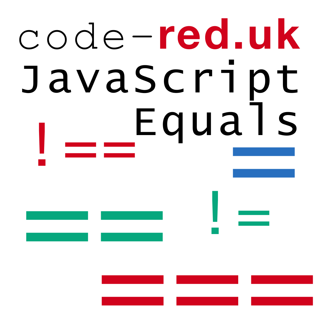 Examples of JavaScript equals
