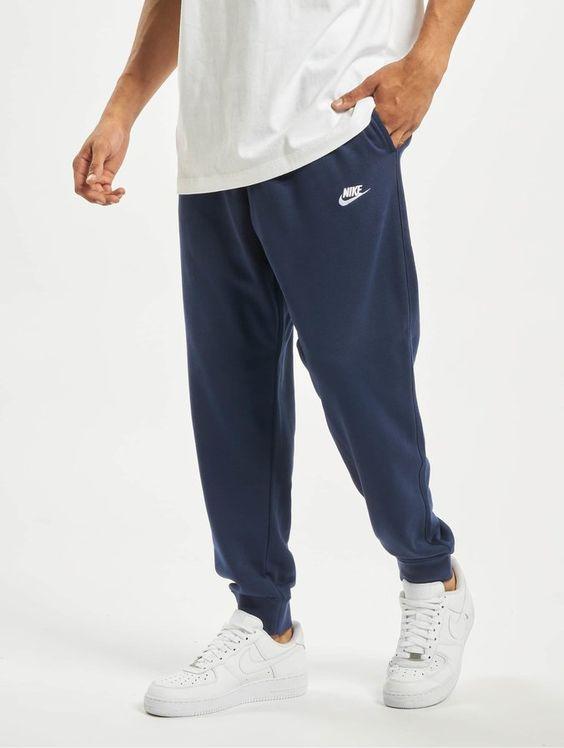 Pantalon de jogging homme avec élastiques aux pieds