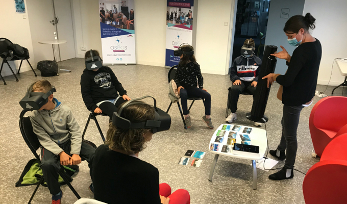 Animation réalité virtuelle enfants