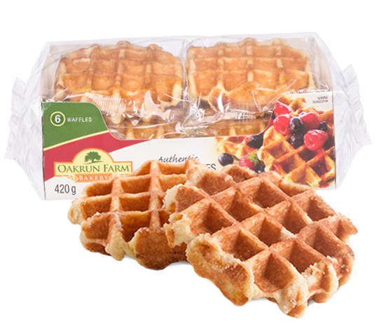 waffles with packaging