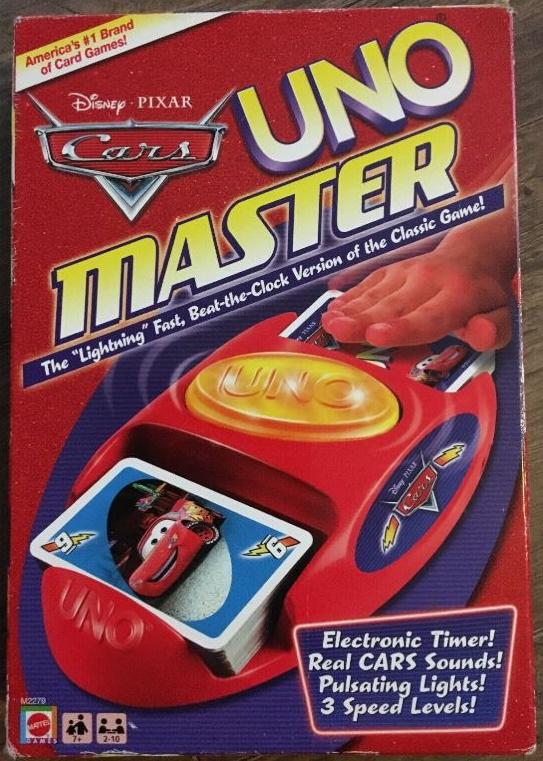 Uno Master: Cars