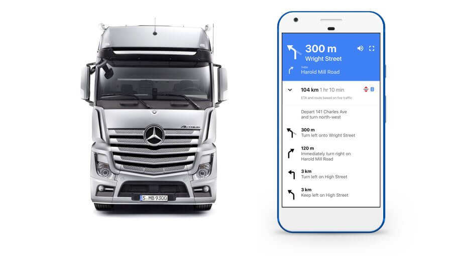 Truck phone uk