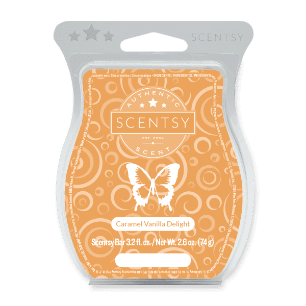 Picture of Caramel Vanilla Delight Scentsy Bar