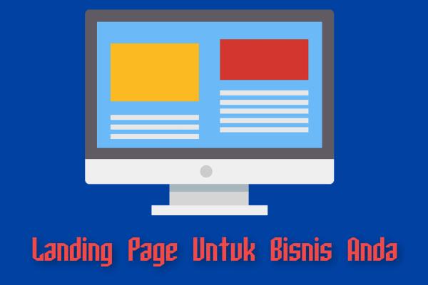 Keuntungan Memiliki Sebuah Landing Page