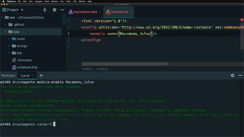 Create the initial module