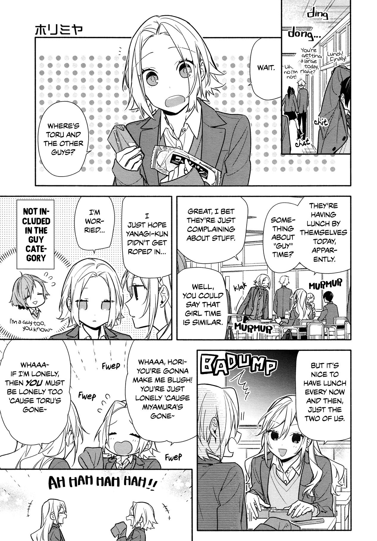 Horimiya, Chapter 111 Page 1