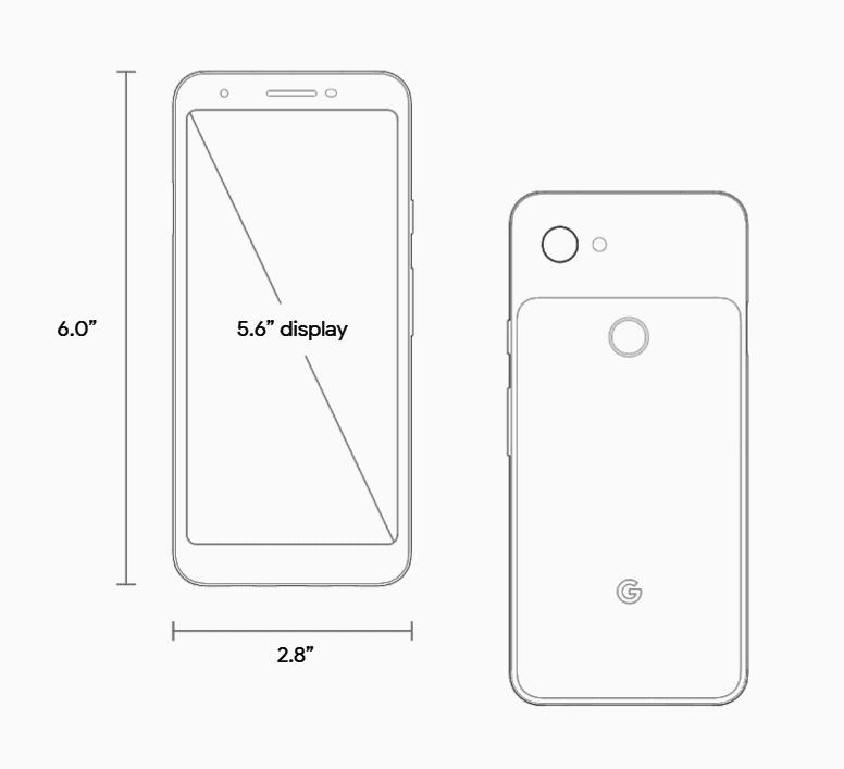 Pixel 3A Diagram