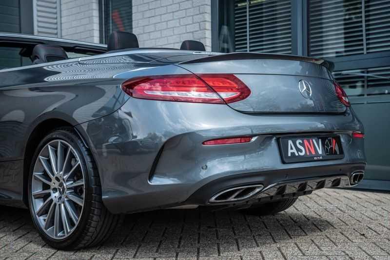 Mercedes-Benz C-Klasse Cabrio 43 AMG 4MATIC, 367 PK, Distronic Plus, Comfort/Pakket, Head/Up, LED, Airscarf, Sport/Uitlaat, 30DKM! afbeelding 21