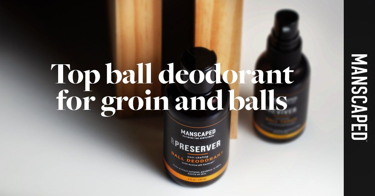Top Ball Deodorant for Groin and Balls