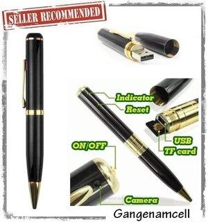 Kamera Pulpen + Memory 8 GB / Spy Camera Pen