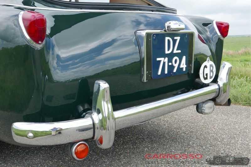 Aston Martin DB 2/4 MARK II 2.9 FIVA ID, Mille Miglia certificate afbeelding 9