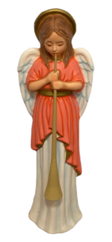 Deluxe Angel With Horn photo