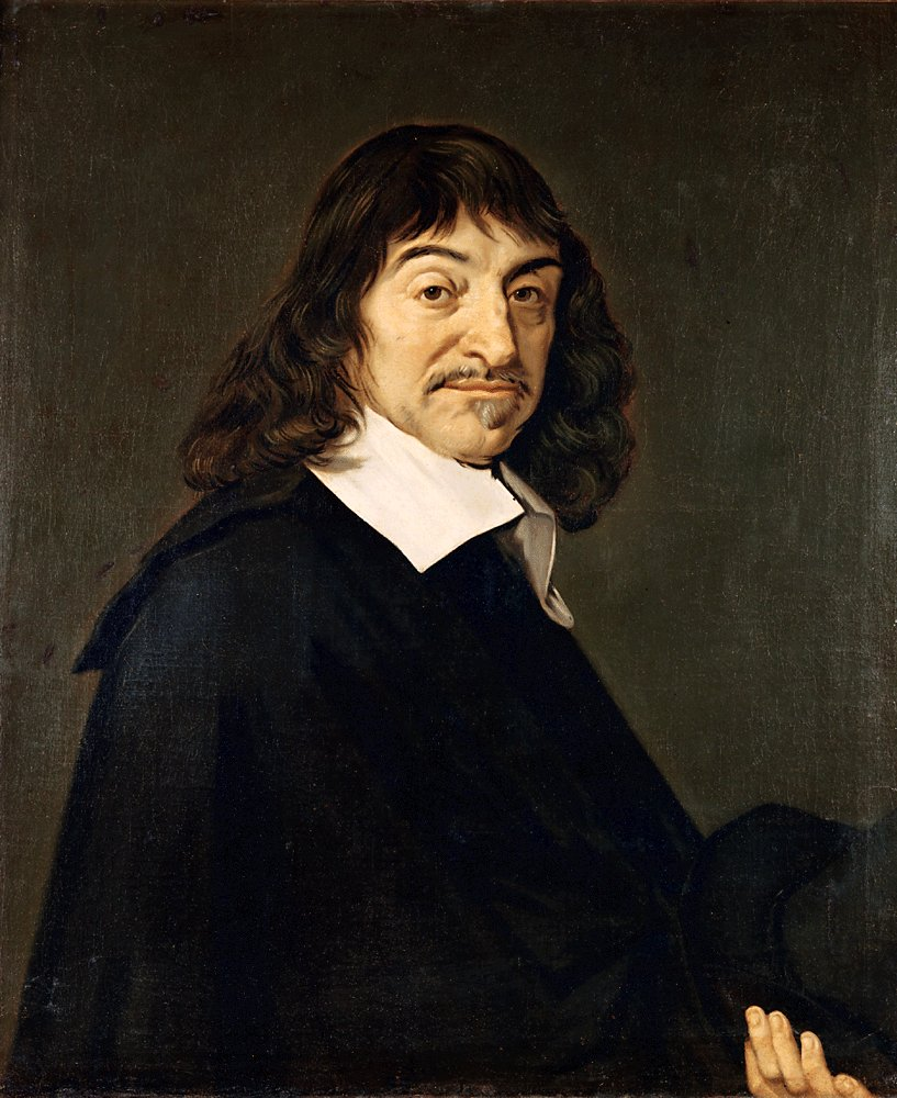 Portrait of Descartes by Frans Hals. Public domain