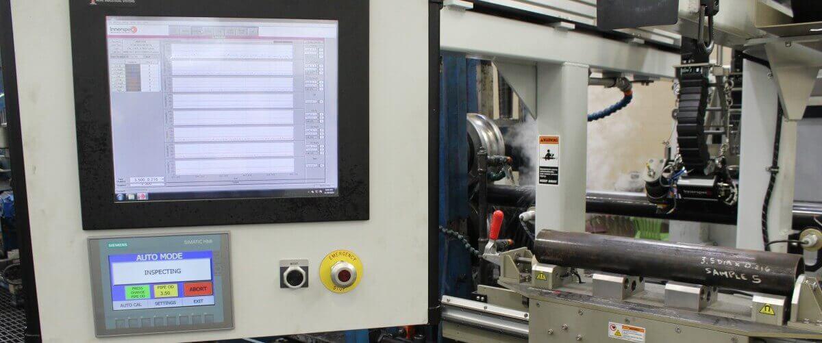 In-Line ERW Tube Inspection HMI
