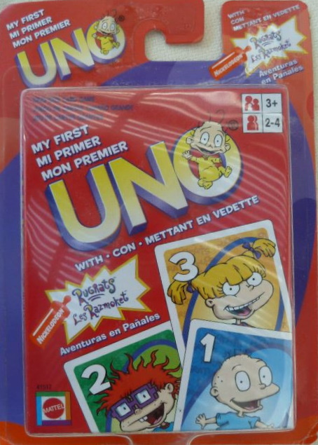 Rugrats My First Uno