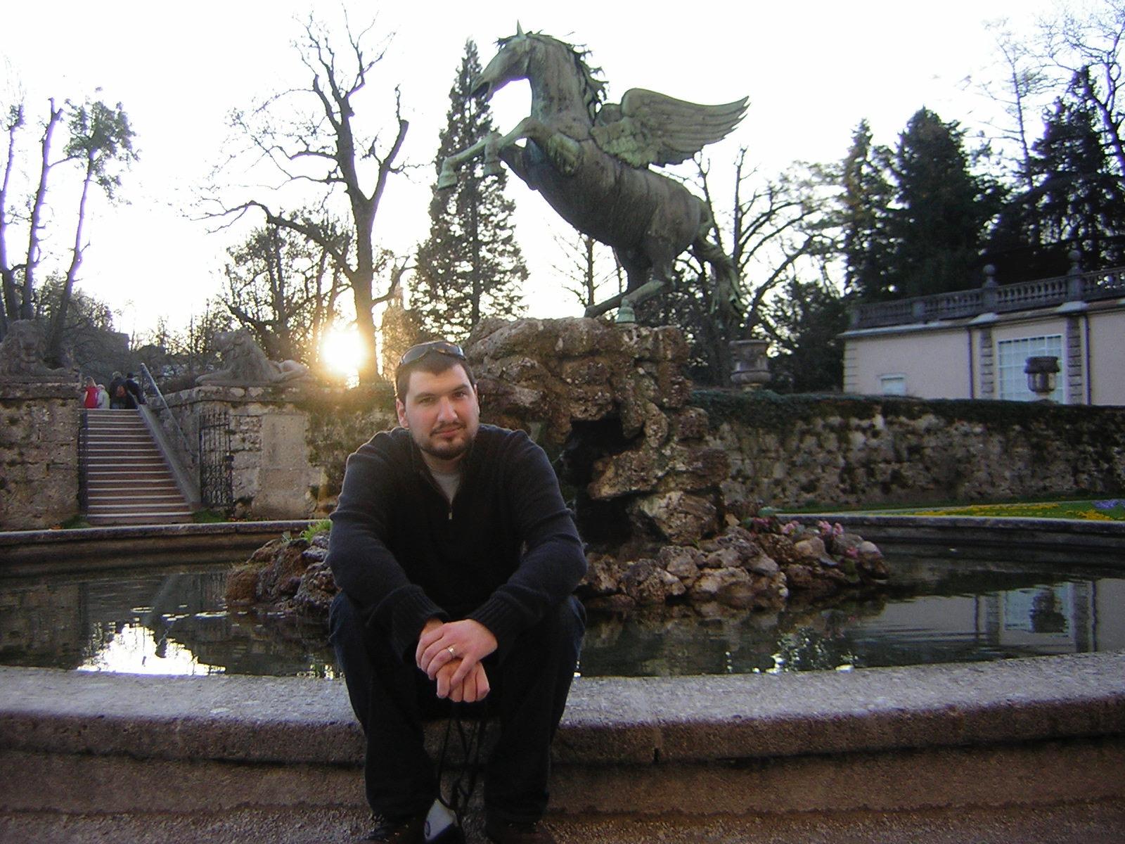 Chris Rosser in Salzburg, Austria