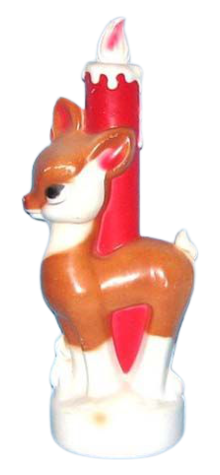 Reindeer Candle photo
