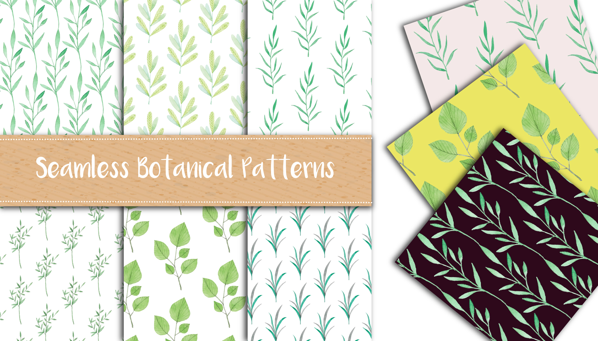 botanical pattern item