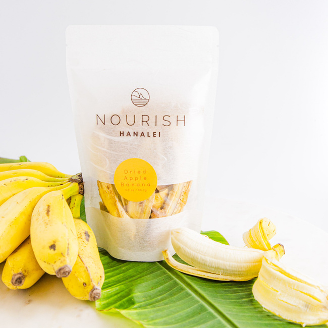 Nourish Hanalei | Dried Apple Bananas