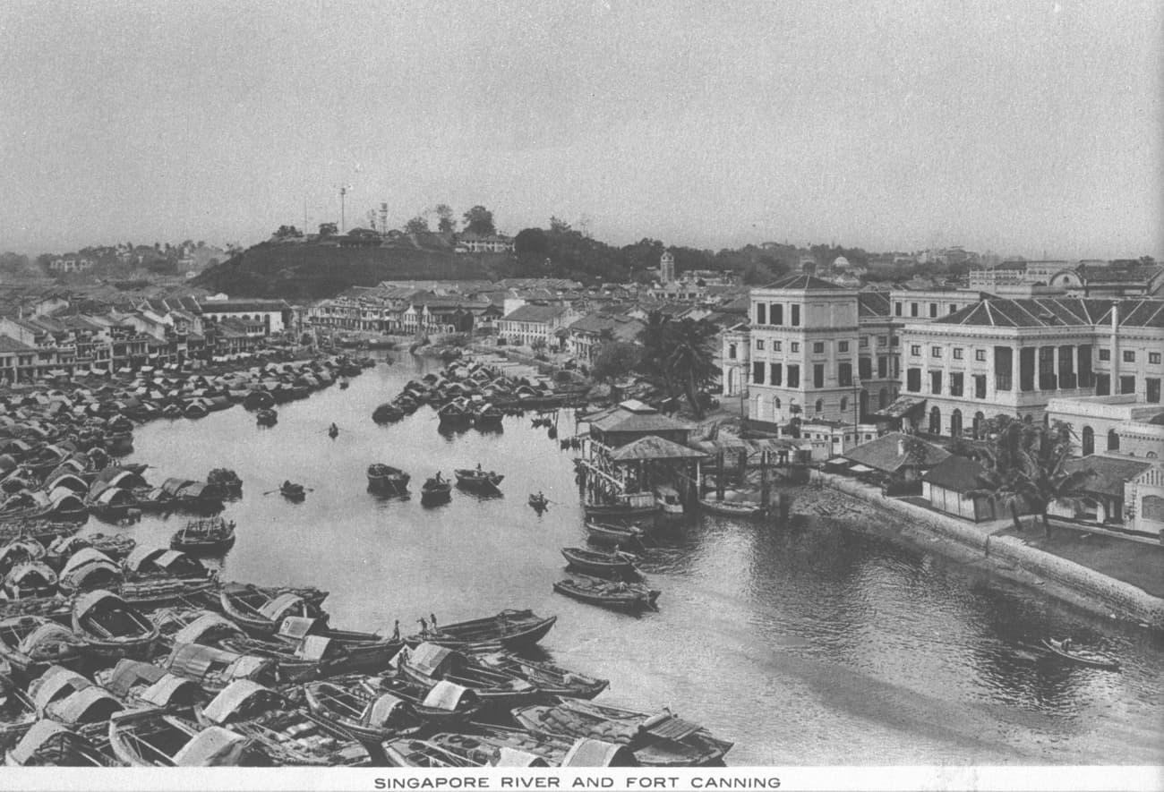 Boat Quay, 1920s