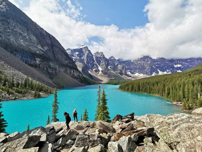 Les majestueux lacs du parc de Banff cover image