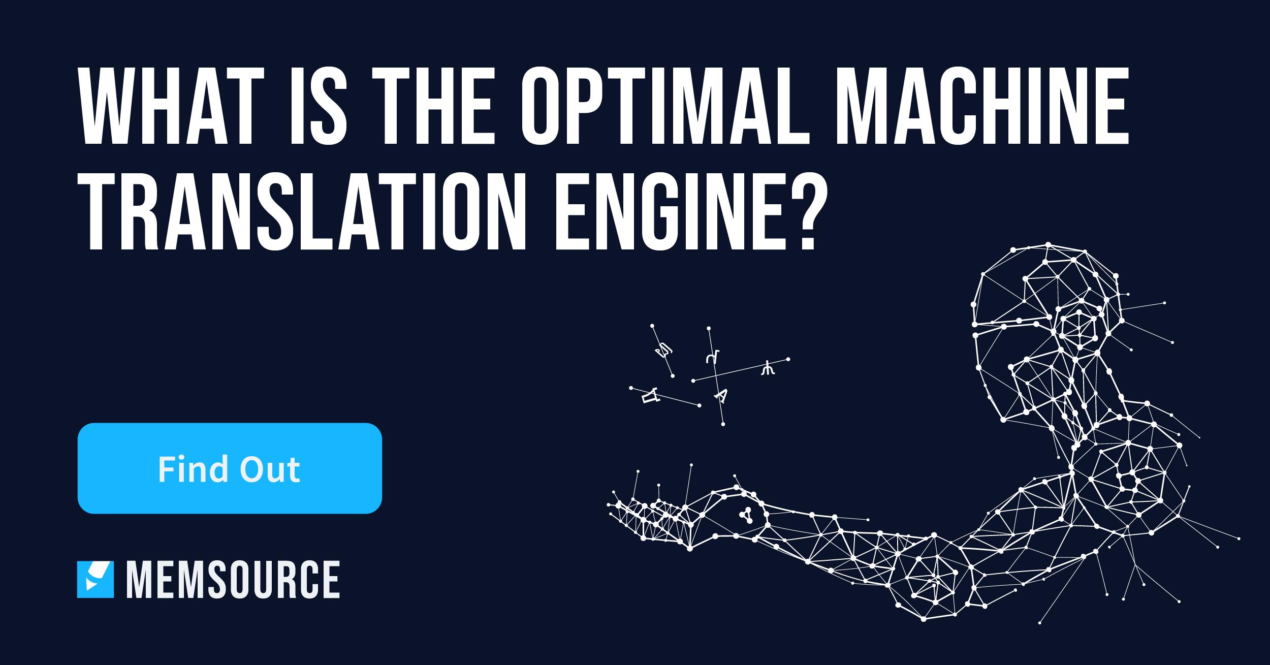 Qualität von Machine Translation Engines