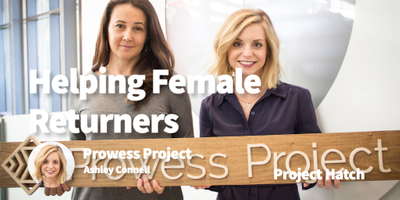 featured image thumbnail for post Helping Female Returners Back into the Workforce Without Losing Their Compensation Power