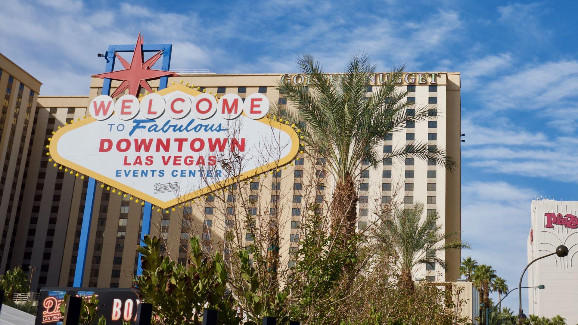 Downtown Las Vegas är den gamla delen av stan där casinona började byggas.