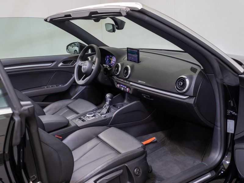 Audi A3 Cabriolet 35 TFSI CoD Sport | 150 pk | Automaat | Virtual Cockpit | Camera | Adaptieve Cruise | DAB | Leder Milano | Keyless-Entry | afbeelding 19