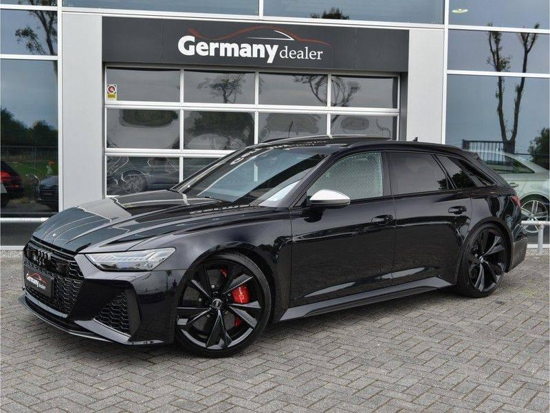 Audi RS6 4.0TFSI 600pk Quattro Keramiek Carbon B&O High-End Softcl Nachtz TV Laser Standk VOL!! afbeelding 6