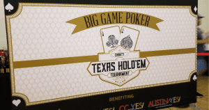 The PM Group - Big Game Poker Charity Texas Hold'em Tournament