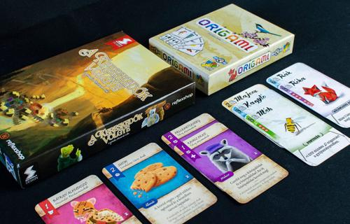 Állati jó kártyajátékok: A Kereskedők Völgye és Origami