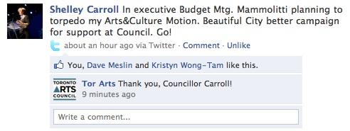Caroll Facebook